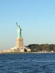 Lady Liberty Bidding Adieu