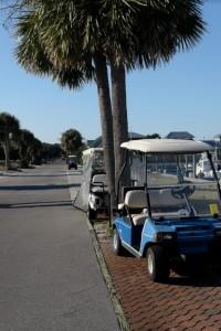 "Electric ""Vehicles"" on Bald Island, NC"