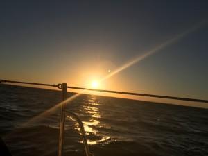 Sunset North Atlantic