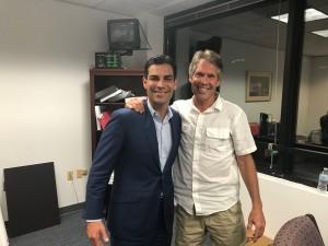 Mayor Francis Suarez and Dave