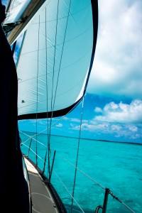 Tusen Takk Under Sail